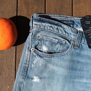 Lucky Brand | NWT Distressed Sienna Slim Jeans